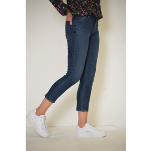 J Brand Ruby High Rise Crop Jean Mesmeric