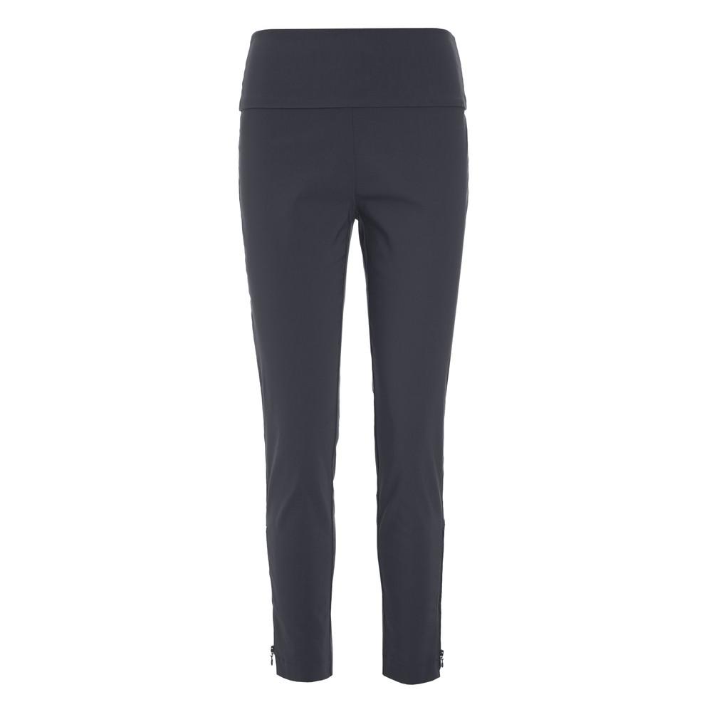Bitte Kai Rand Slim Fit Trouser Ankle Zip Black