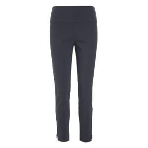 Slim Fit Trouser Ankle Zip Black