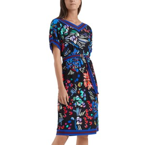 Floral Print Dress Midnight