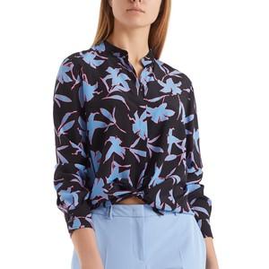 Floral Silk Blouse Gouache