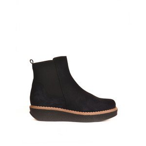 Toni Pons Georgia Chunky Boot with Stretch Sides Navy