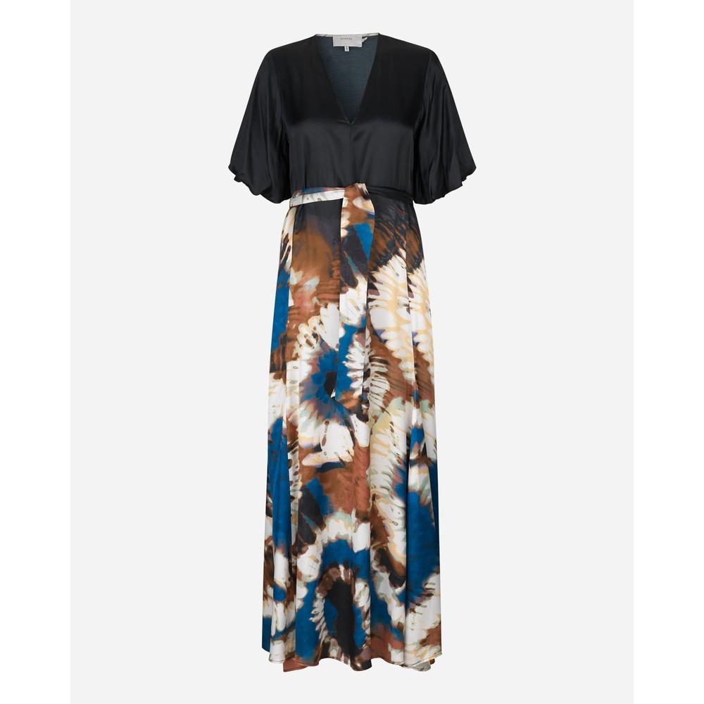 Munthe Milfoil Printed Skirt Dress Black/Multi