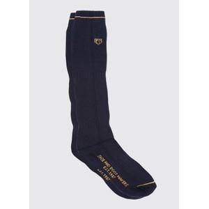 Dubarry Long Boot Sock in Navy