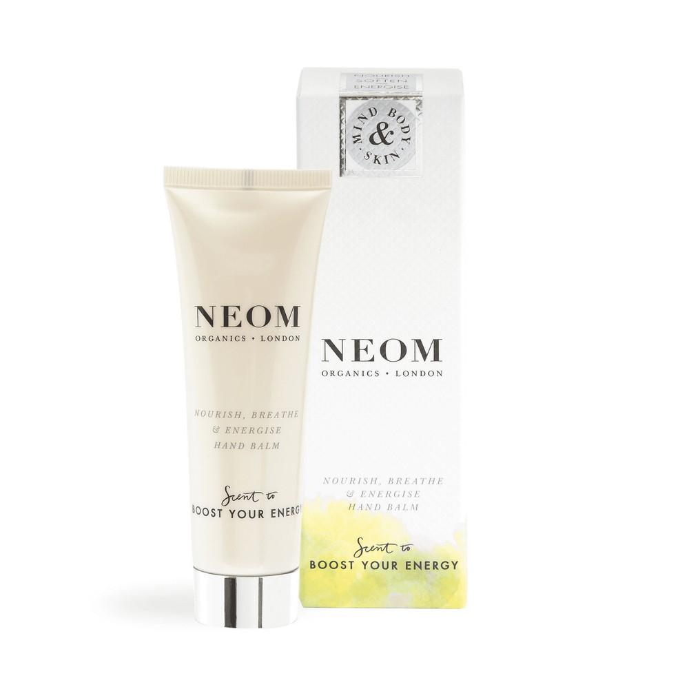 Neom Organics Breath & Energise Hand Balm Boost Your Energy