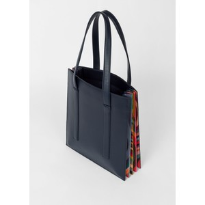 Paul Smith Accessories Concertina Swirl Bag Navy