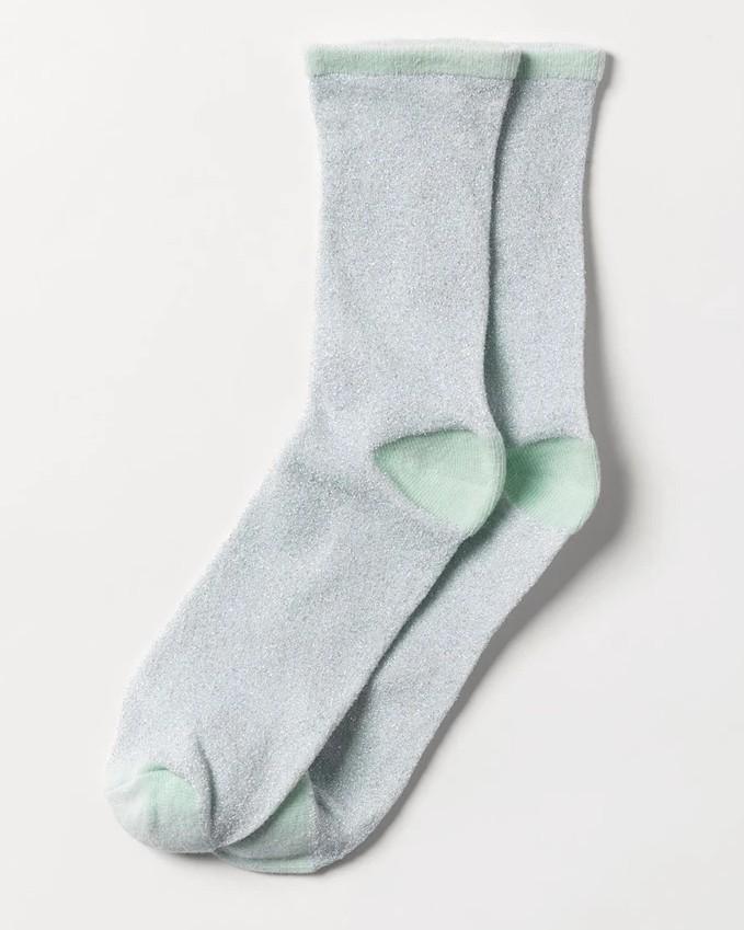 Becksondergaard Dina Solid Sock Silt Green