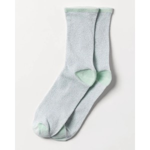 Dina Solid Sock Silt Green