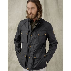 Fieldmaster Wax Jacket Dark Navy