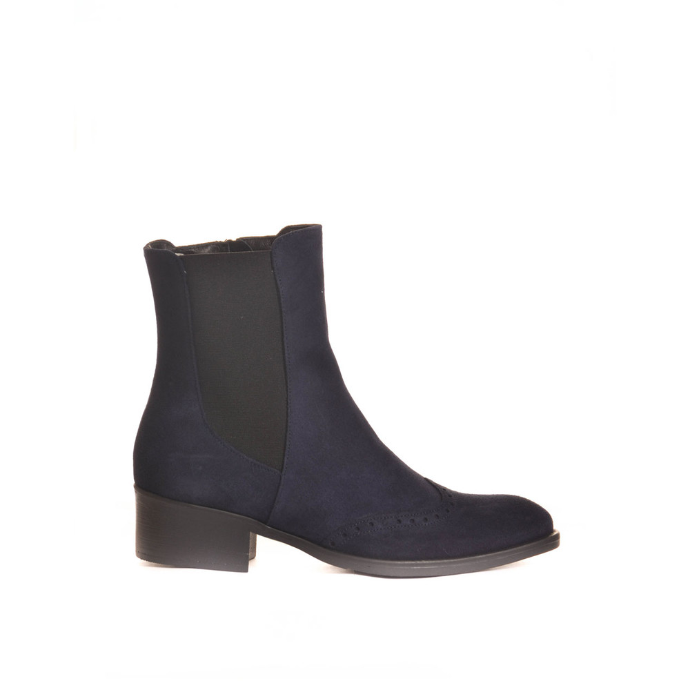 Toni Pons Trieste Ankle Boot with Stretch Sides Navy
