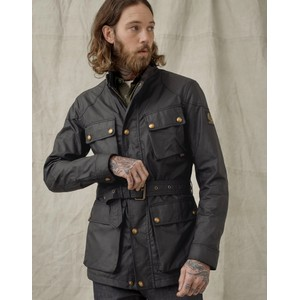 Trialmaster Wax Jacket Black