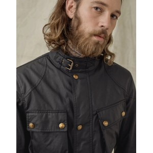 Belstaff Trialmaster Wax Jacket Black