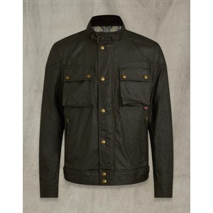 Racemaster Wax Jacket Faded Olive