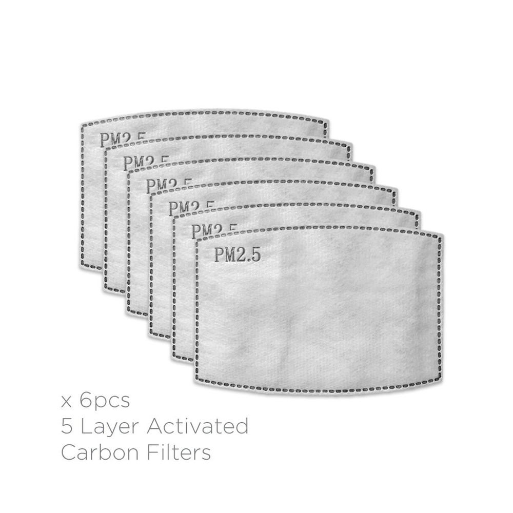Breathe Filters-Pack of 6 N/A