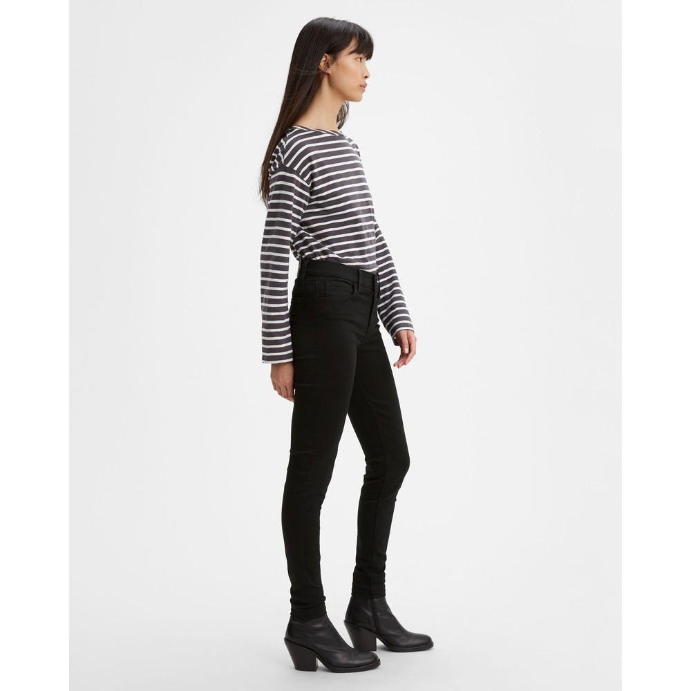 Levis 720 Hi Rise Super Skinny Black Galaxy