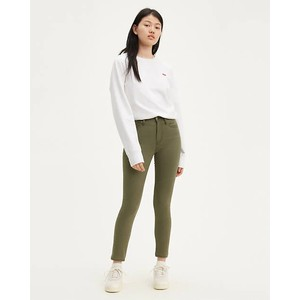 Levis 721 High Rise Skinny Olive Night