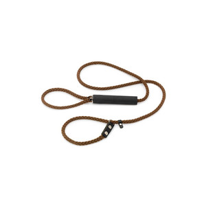 Smart Thin Slip Gundog Lead - 120cm Brown