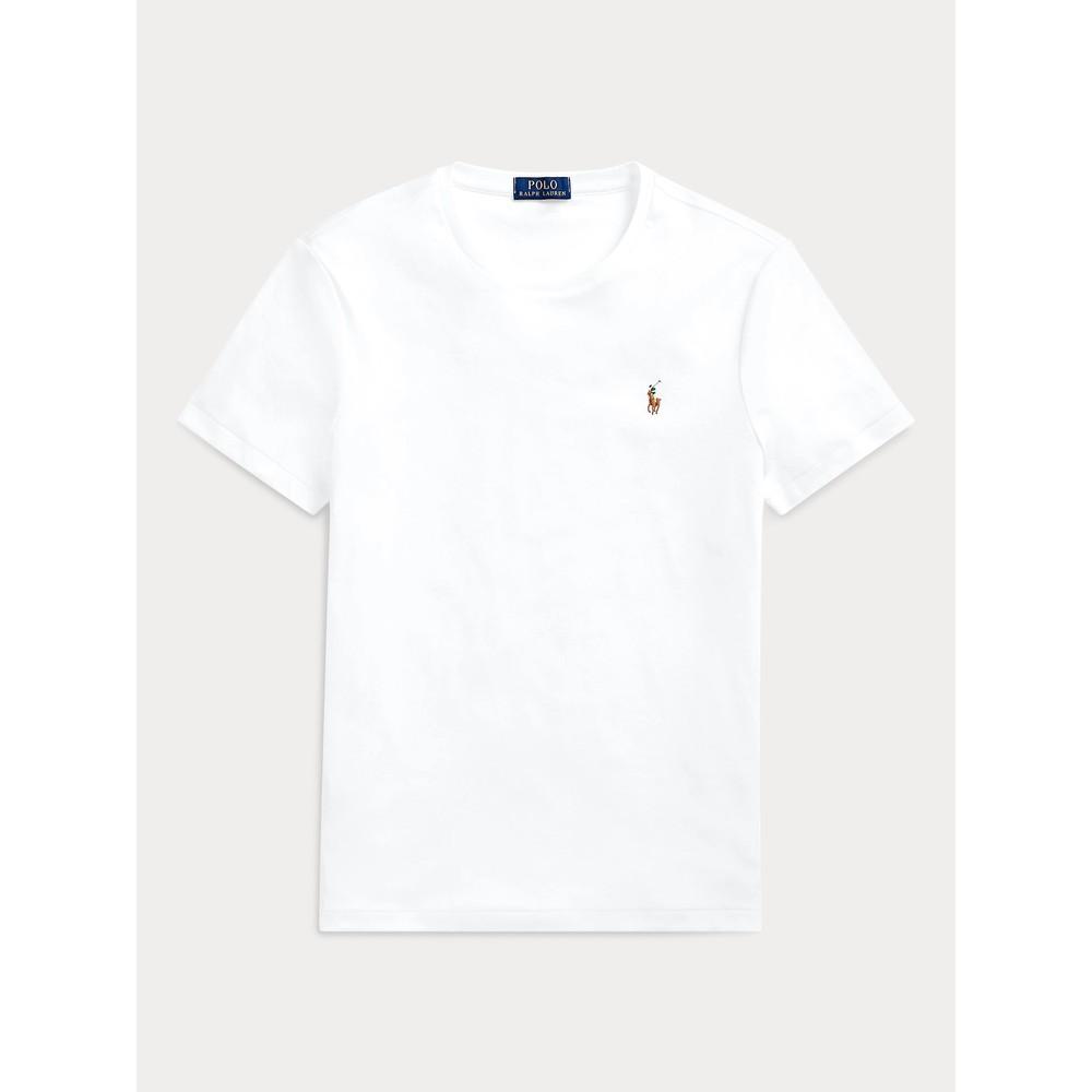 Polo Ralph Lauren S/S Polo Custom Slim Fit Tee White
