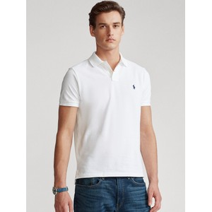Custom Slim Fit Polo White