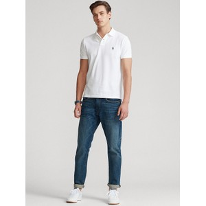 Polo Ralph Lauren Custom Slim Fit Polo White