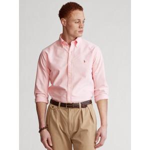 Polo Ralph Lauren L/S Logo Custom Sport Shirt Pink