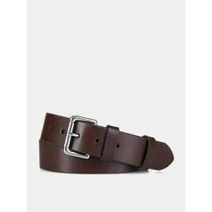 Polo Ralph Lauren 1 1/2 Roller Leather Belt in Brown