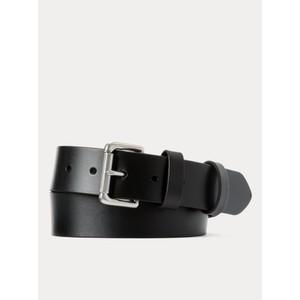 Polo Ralph Lauren 1 1/2 Roller Leather Belt in Black