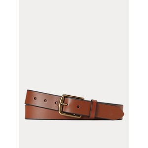 Polo Ralph Lauren 1 3/8 Saddler Leather belt in Brown
