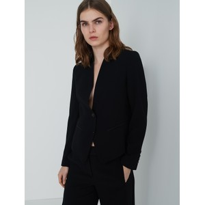 Miranda Single Button Jacket Black