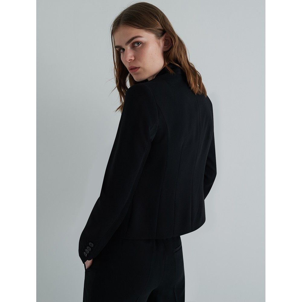Marella Miranda Single Button Jacket Black