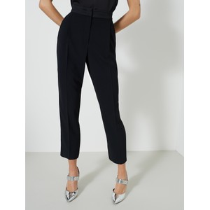 Izabel Tapered Leg Trousers Black