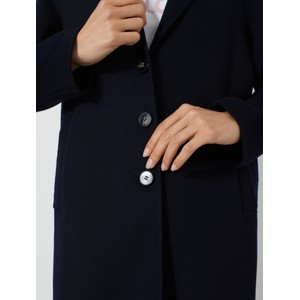 Marella Monviso Single Breasted Coat Navy