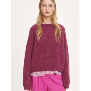 Neta Crew Neck Jumper Purple Jasper