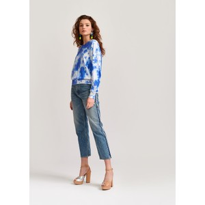 Essentiel Antwerp Vaugha Distressed Strght Jeans Light Denim