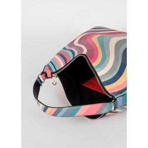 Paul Smith Accessories Hobo Zip Swirl Bag Multi