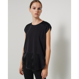 Dentice S/L Silk Panel Top Black