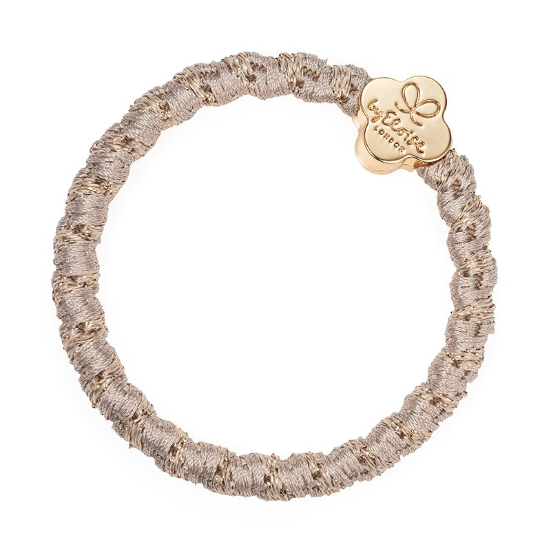 By Eloise Gold Quatrefoil Bangle Band Blonde