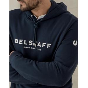 Belstaff 1924 Hooded Sweatshirt Navy/Off White