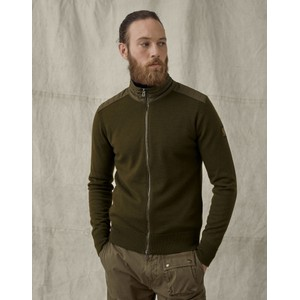 Kelby Zip Cardigan Salvia