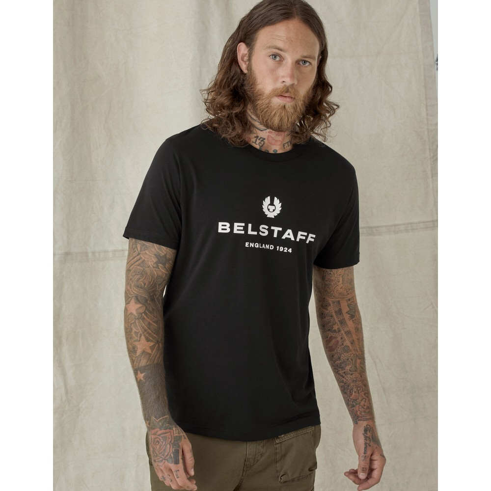 Belstaff 1924 T Shirt Black