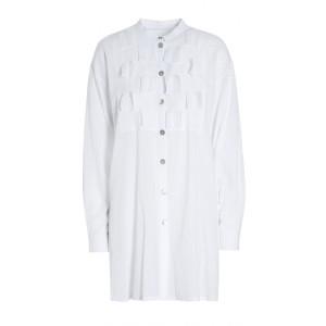 Bitte Kai Rand Crinkle Cotton Squares Tunic White