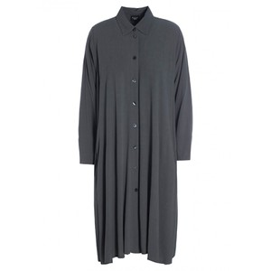 Ether O/sized Shirt Dress Dark Grey