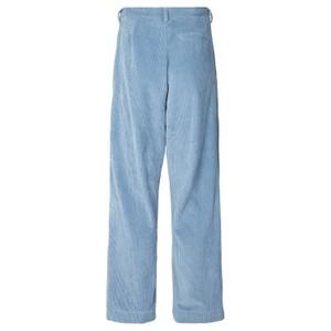 Lollys Laundry Selma Cord Wide Trousers Dusty Blue