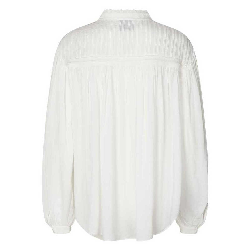 Lollys Laundry Cara Pintuck Blouse White