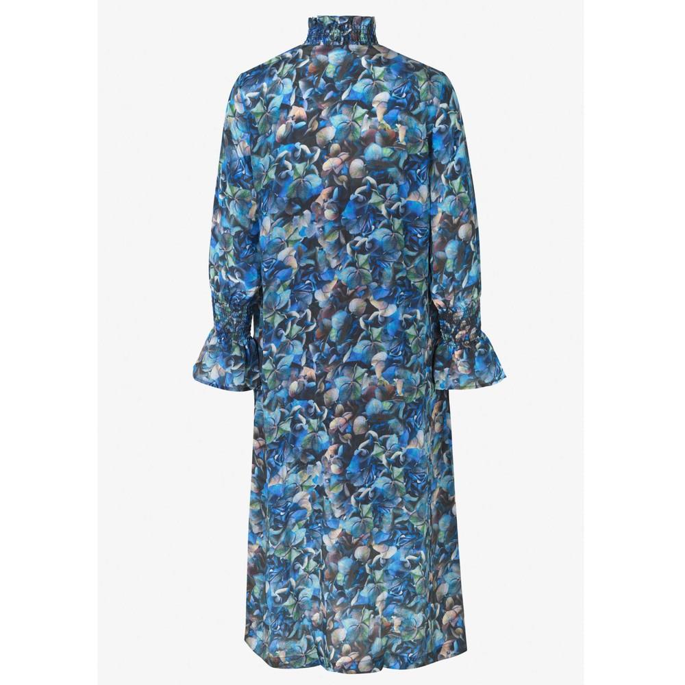 Baum Und Pferdgarten Aeverie Hi Neck L/S Dress Blue Hydrangea
