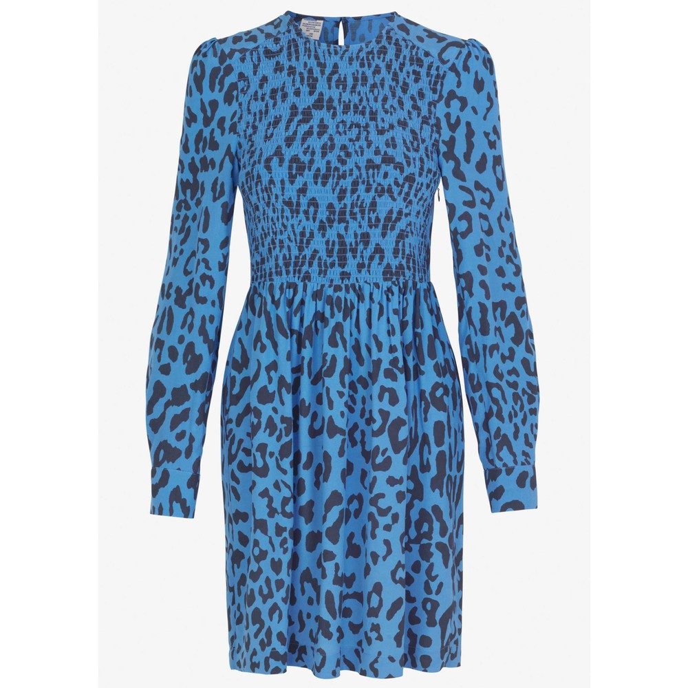 Baum Und Pferdgarten Avaleigh Leopard Tunic Dress Provence Blue