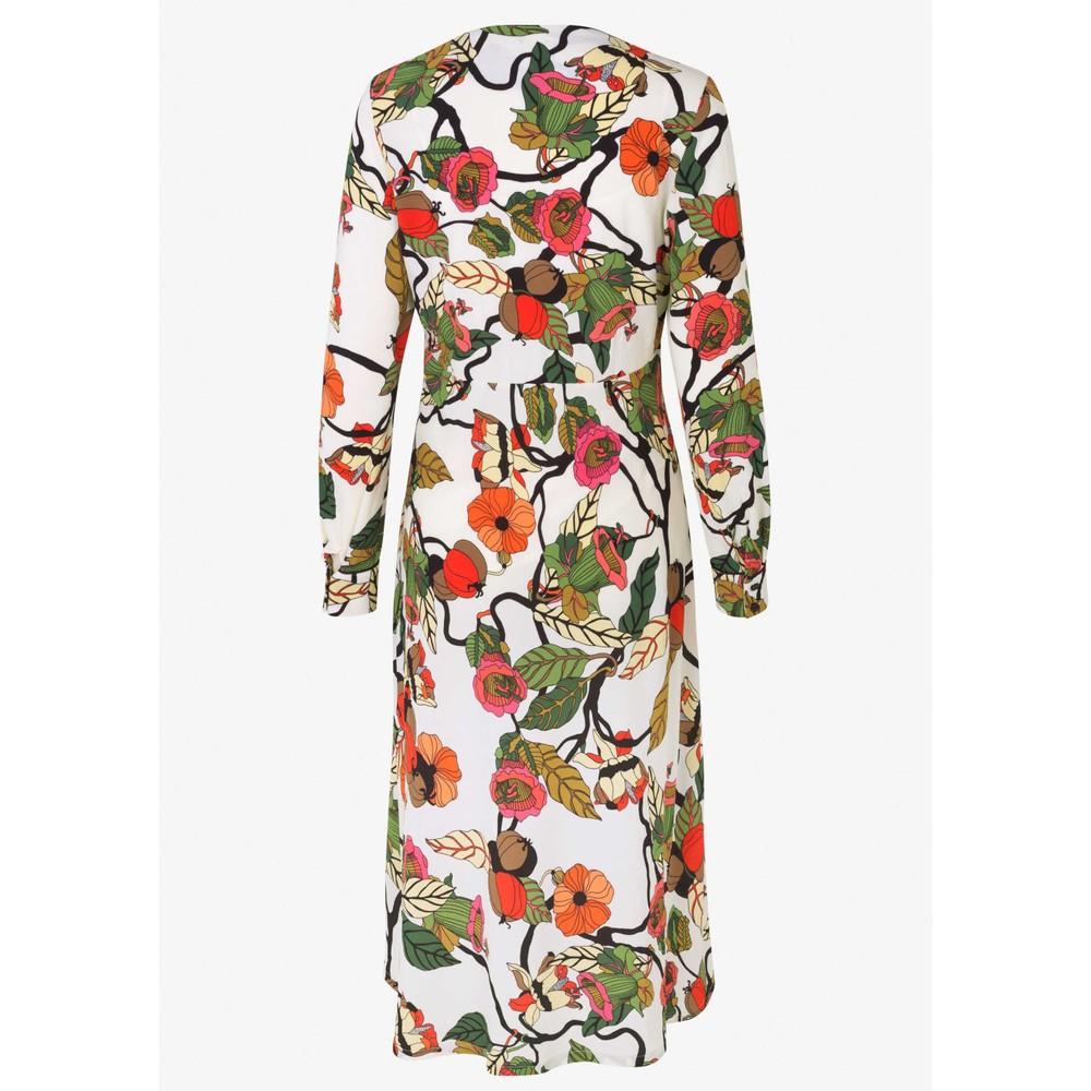 Baum Und Pferdgarten Aericka V/N L/S Dress Cream Floral Branch