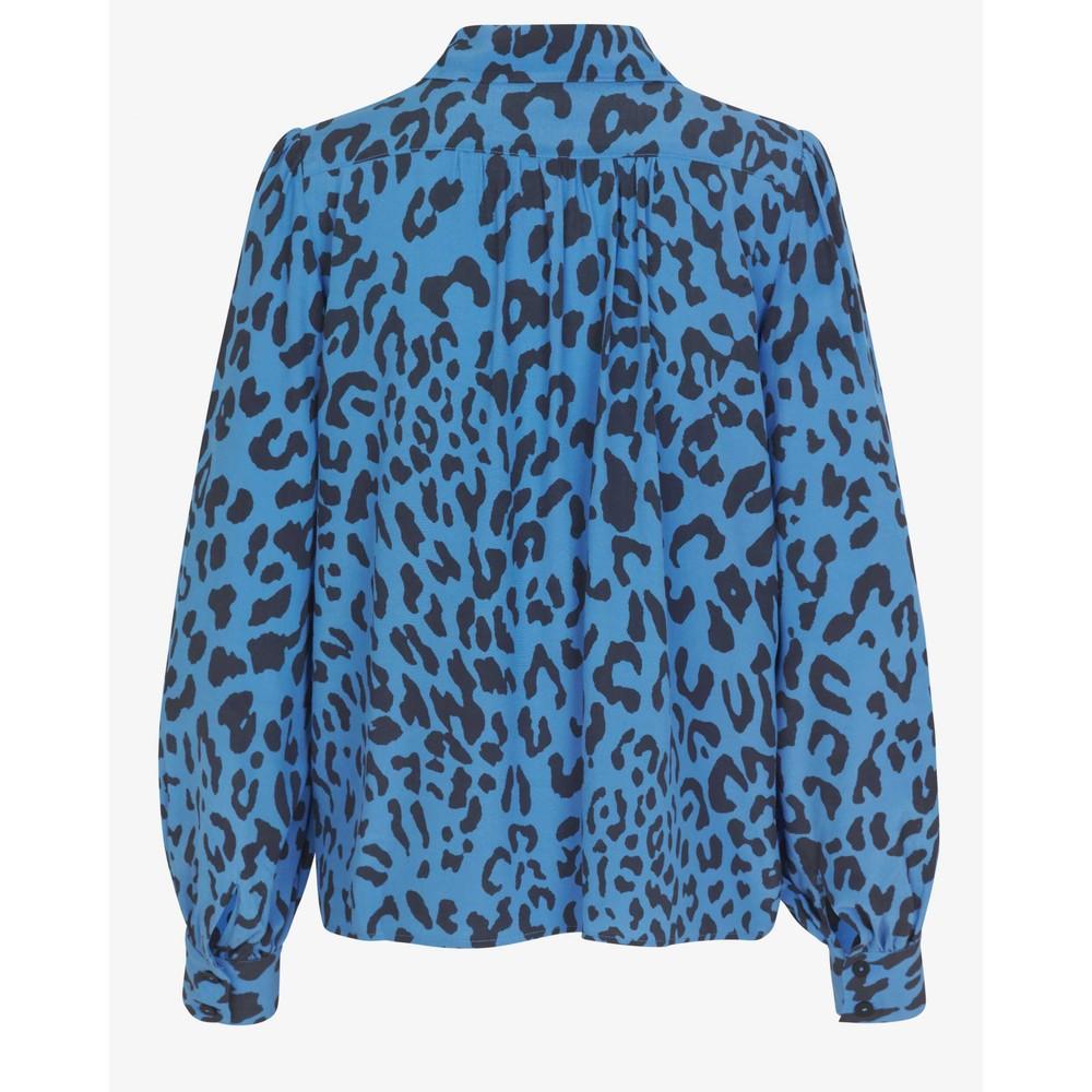 Baum Und Pferdgarten Mafalda Leopard Print Shirt Provence Blue