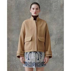 Zira Boxy Jacket Camel