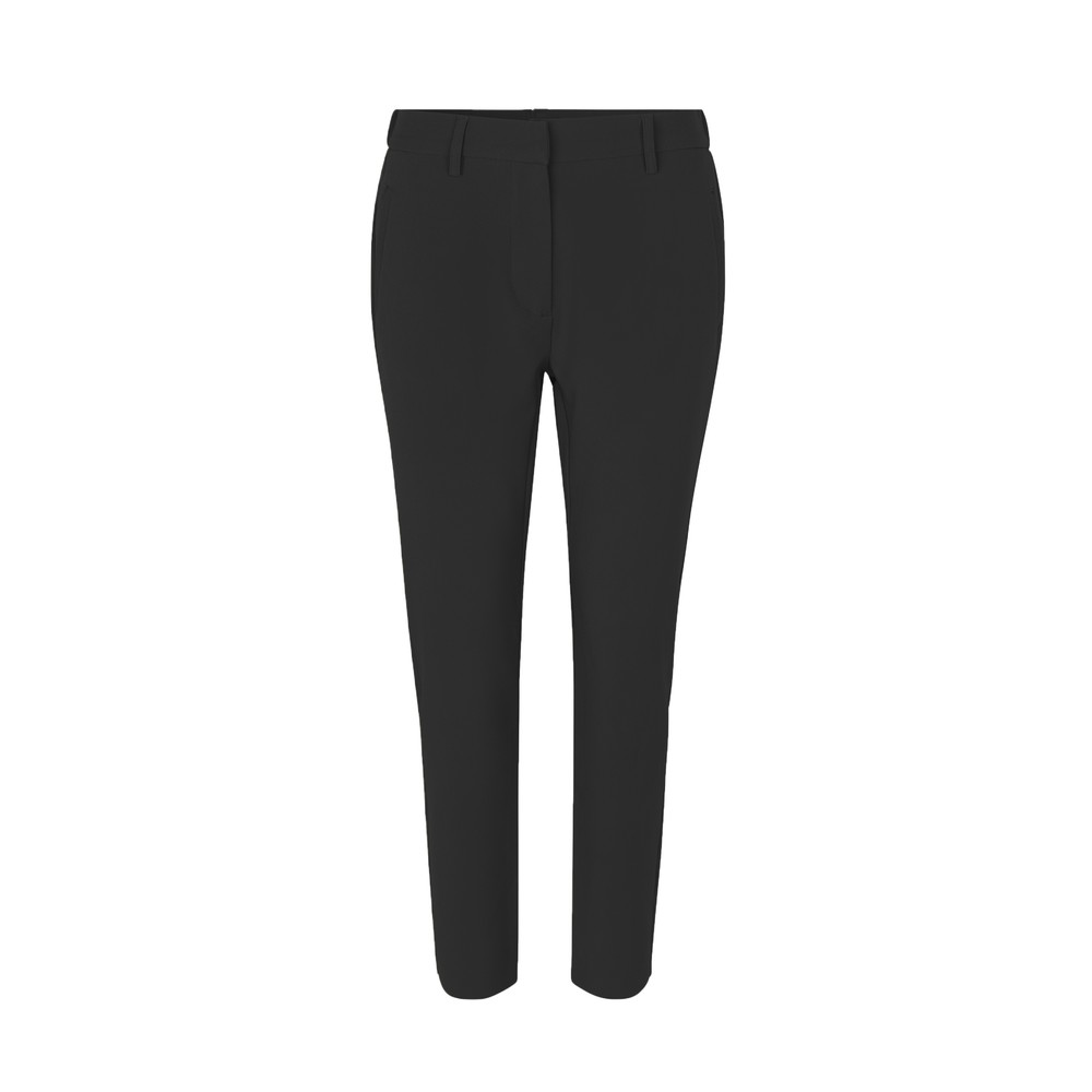 Levete Room Helena Tapered Crop Trouser Black